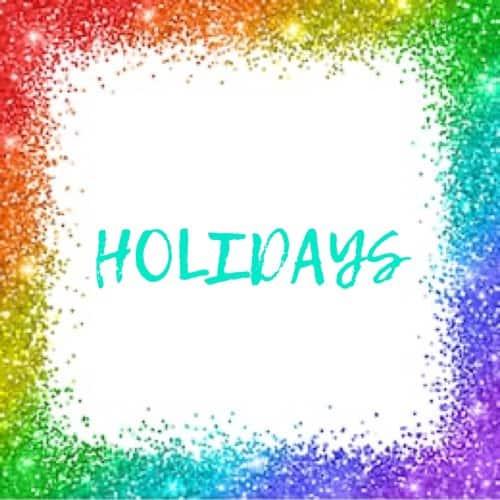 Holiday category