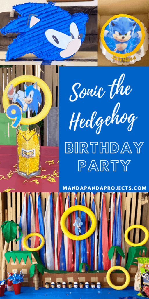 Super Sonic The Hedgehog Birthday Party Speed On Over And Celebrate